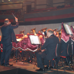 LCFB performing at Birmingham Symphony Hall, November 2011